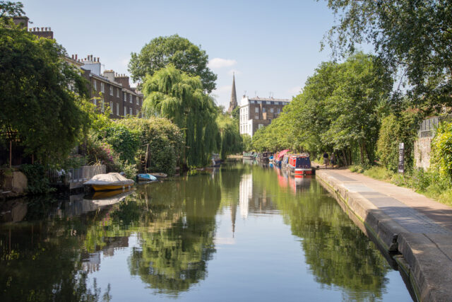 egent's Canal Little Venice. Camley Street Natural Park Kings Cross Best things to do in Kings Cross